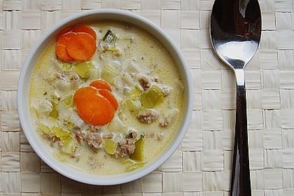 Käse - Hack - Suppe 5