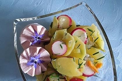 Schneller Kartoffel - Radieschen - Salat
