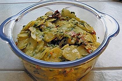 Schneller Kartoffel - Radieschen - Salat 11