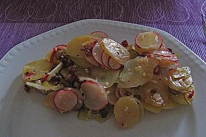 Schneller Kartoffel - Radieschen - Salat 9