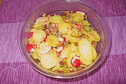 Schneller Kartoffel - Radieschen - Salat 4