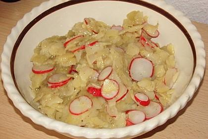 Schneller Kartoffel - Radieschen - Salat 10