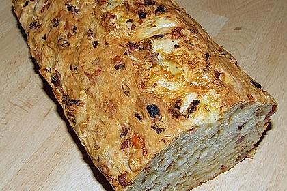 Zwiebel-Käse-Schinken-Brot 3