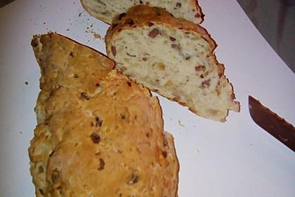 Zwiebel-Käse-Schinken-Brot 55