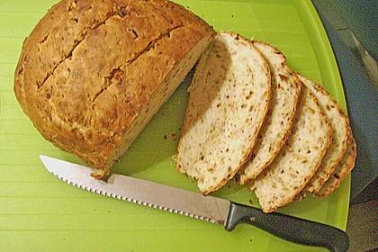 Zwiebel-Käse-Schinken-Brot 83