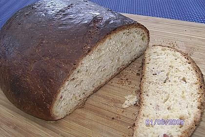 Zwiebel-Käse-Schinken-Brot 45