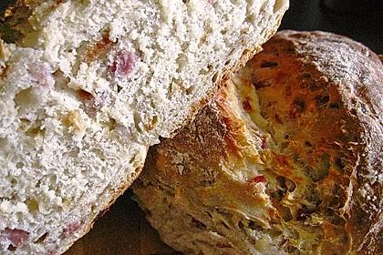Zwiebel-Käse-Schinken-Brot 16