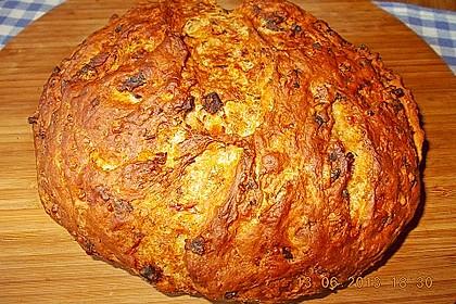 Zwiebel-Käse-Schinken-Brot 73