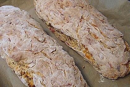 Zwiebel-Käse-Schinken-Brot 6