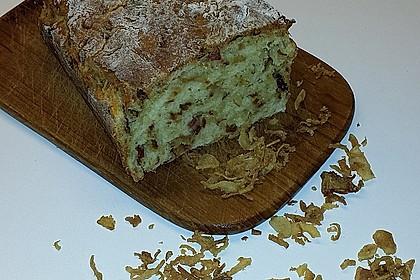 Zwiebel-Käse-Schinken-Brot 32