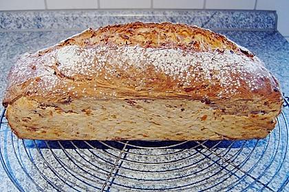 Zwiebel-Käse-Schinken-Brot 19