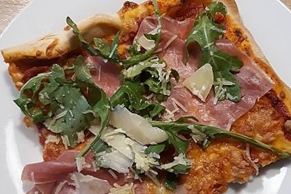 Rucola - Pizza mit Parmaschinken 40