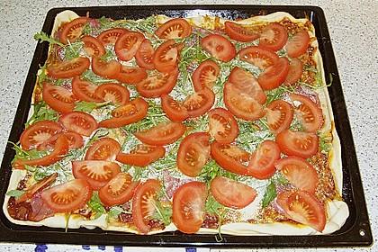 Rucola - Pizza mit Parmaschinken 43