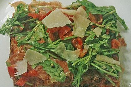 Rucola - Pizza mit Parmaschinken 46
