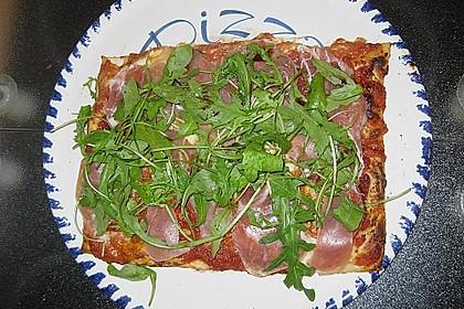 Rucola - Pizza mit Parmaschinken 29