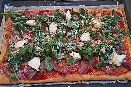 Rucola - Pizza mit Parmaschinken 39
