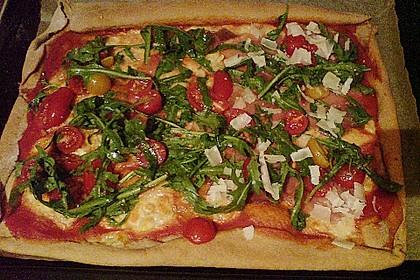 Rucola - Pizza mit Parmaschinken 41