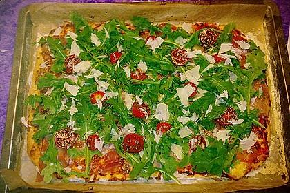 Rucola - Pizza mit Parmaschinken 32