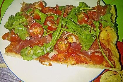 Rucola - Pizza mit Parmaschinken 28