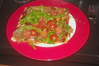Rucola - Pizza mit Parmaschinken 48