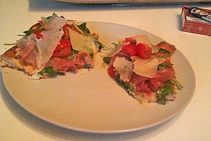 Rucola - Pizza mit Parmaschinken 50