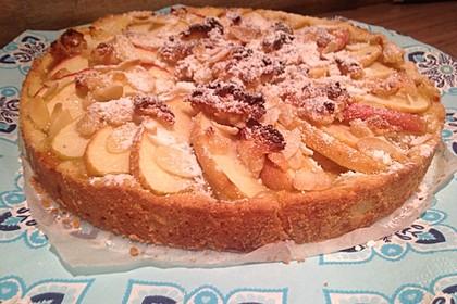 Apfel - Marzipan - Tarte