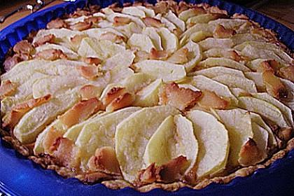 Apfel - Marzipan - Tarte 16