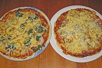 Pizzaboden - dünn und knusprig 16