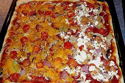 Pizzaboden - dünn und knusprig 56