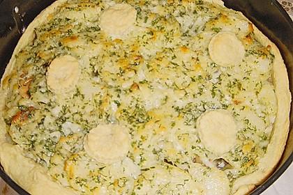 Kartoffeltorte mit Portweinjus 1