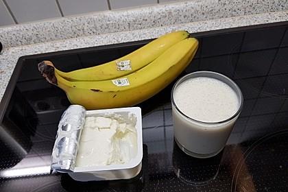 Bananen - Eiweiß - Shake (Bild)