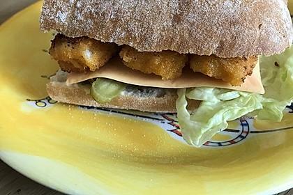Fischstäbchen-Burger 8