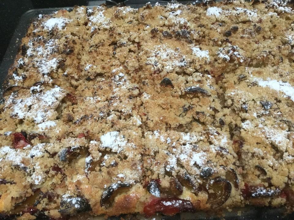 Zwetschgen Streuselkuchen Von Loeckchen87 Chefkoch De
