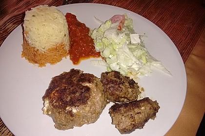 botos Bifteki mit griechischem Tomatenreis 55