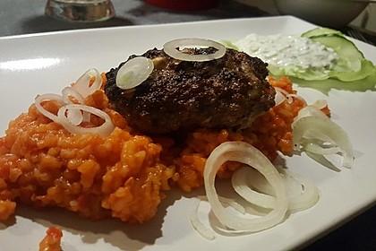 botos Bifteki mit griechischem Tomatenreis 2