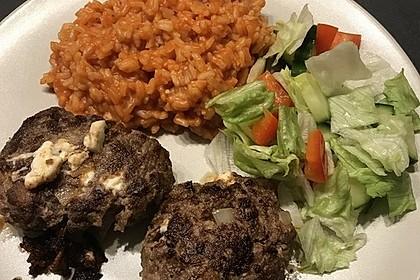 botos Bifteki mit griechischem Tomatenreis 22