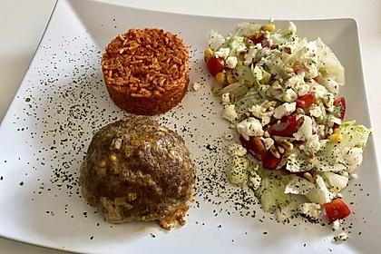 botos Bifteki mit griechischem Tomatenreis 15