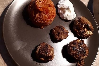 botos Bifteki mit griechischem Tomatenreis 26