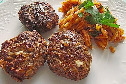 botos Bifteki mit griechischem Tomatenreis 10