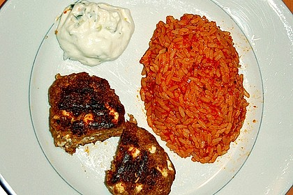 botos Bifteki mit griechischem Tomatenreis 46
