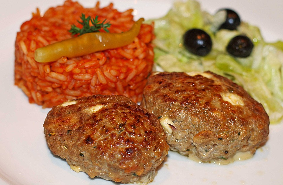 botos Bifteki mit griechischem Tomatenreis von boto | Chefkoch