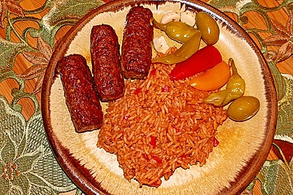 botos Bifteki mit griechischem Tomatenreis 19