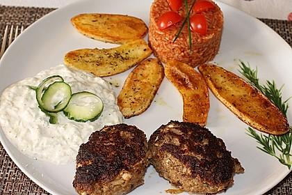botos Bifteki mit griechischem Tomatenreis 3