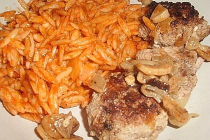 botos Bifteki mit griechischem Tomatenreis 56