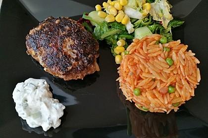 botos Bifteki mit griechischem Tomatenreis 12