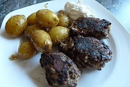 botos Bifteki mit griechischem Tomatenreis 49