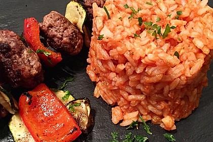 botos Bifteki mit griechischem Tomatenreis 1