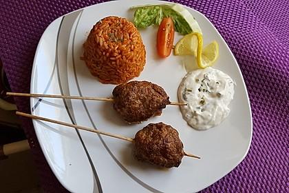 botos Bifteki mit griechischem Tomatenreis 5