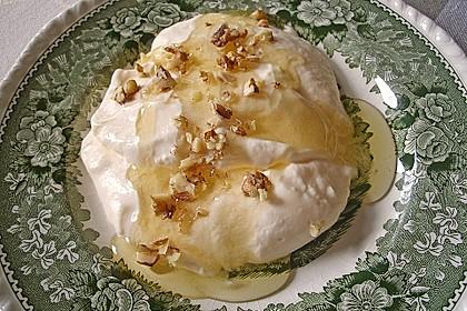 Mousse von griechischem Joghurt mit Honig und Walnüssen 2