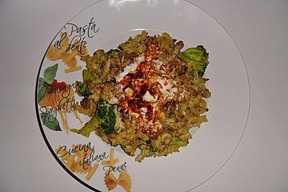 Brokkoli - Hackfleisch - Nudeln mit Joghurt 28